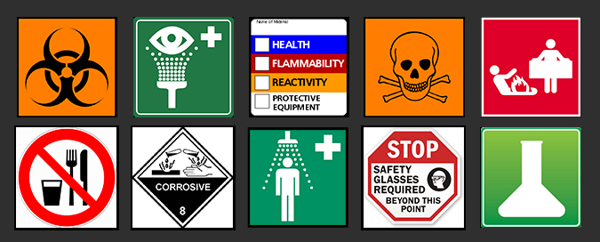 Lab Safety Graphic