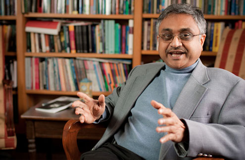 Professor of Communication Ananda Mitra has written 10 books that deal with how technology is changing everything from entertainment to communication to art.