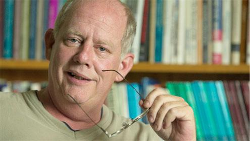 Communication professor Al Louden: