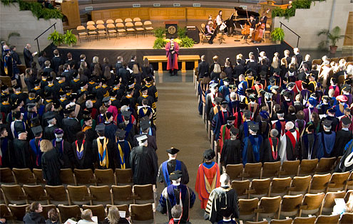 Convocation will be held in Wait Chapel at 4 p.m. Thursday.