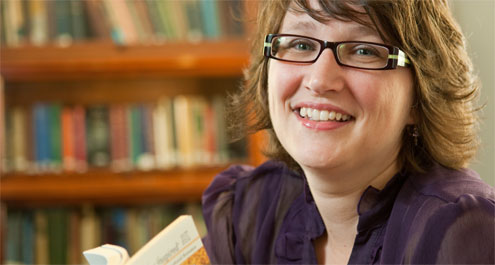 Assistant Professor of Religion Lynn Neal: