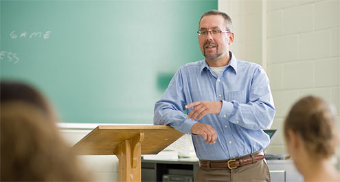Peter Siavelis, Z. Smith Reynolds Foundation Fellow and associate professor of political science, has written extensively on Latin American and comparative politics.
