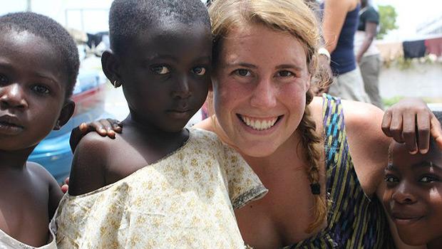 Allison Millhouse in Ghana