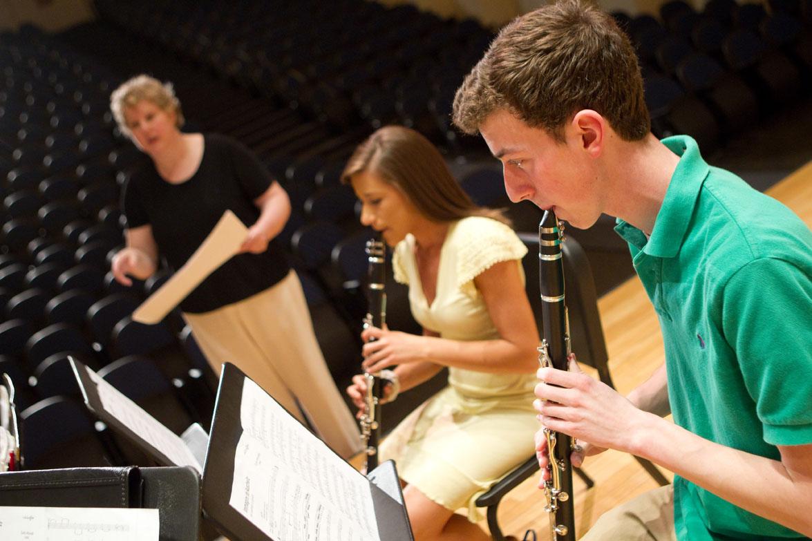 The Wake Forest Clarinet Quartet
