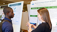 Undergraduate Research Day discussion