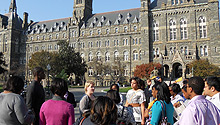 College trip to Georgetown