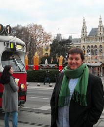 Nick Conte in Vienna, Fall 2010