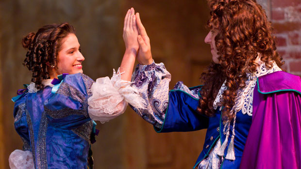 Photo from play: Imaginary Cuckold by Moliere