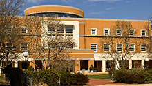 Worrell Professional Center, home of the Wake Forest University School of Law and Schools of Business
