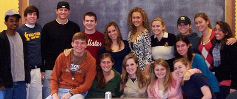 "2007 first-year seminar class ""Surprising Spirituality"" with Lynn Neal"