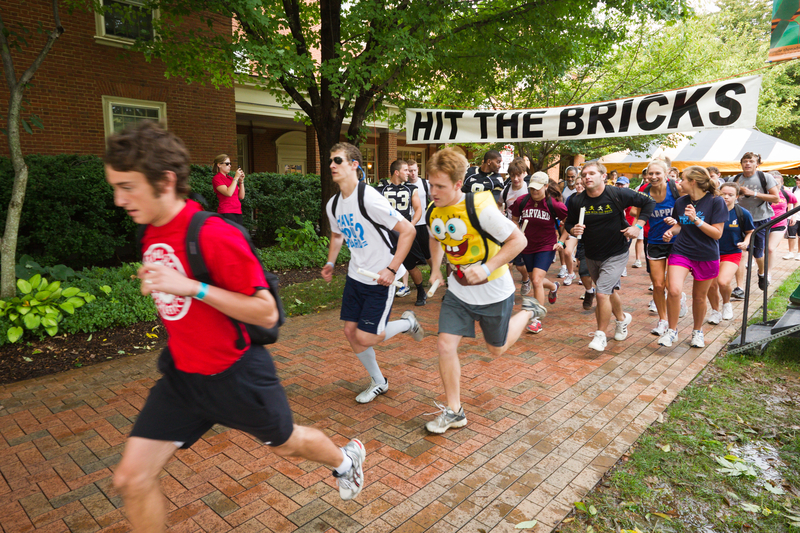 Students hit the bricks in 2010