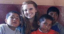 Sarah Wheeler and children