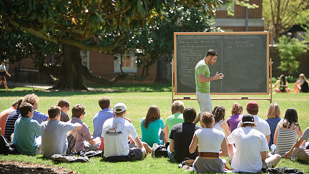 Class on the Quad
