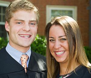 Curtis Vann and Emily Roach