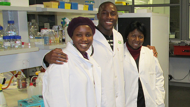 Jason Green in a lab