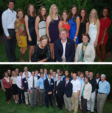 Wake Forest women's golf and men's track and cross country