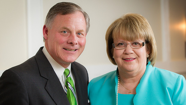 Richard Burr and Jane Cage