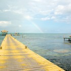 Stretching about 25 miles long and located about 50 miles off the coast of Belize, Lighthouse Reef Atoll is one of the most pristine marine environments in the Caribbean Sea due to its remote location.