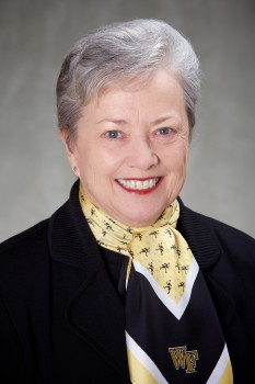 Wake Forest University Trustee Donna Boswell, June 21, 2013.