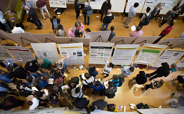 Posters at Undergraduate Research Day