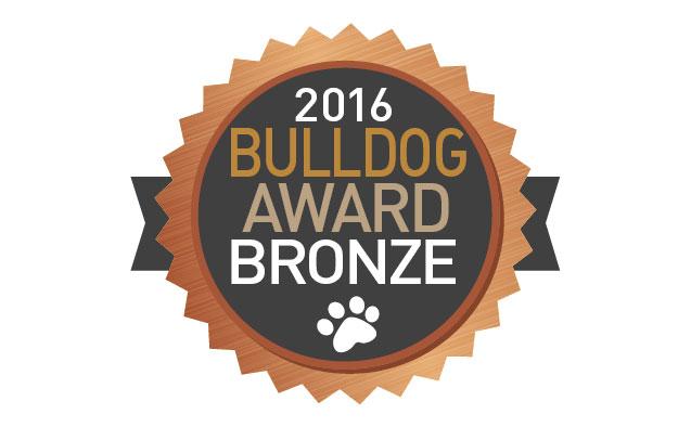 Bulldog Award Prize Logo
