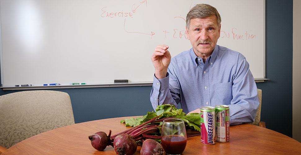 Jack Rejeski, Thurman D. Kitchin Professor and Director of the Behavioral Medicine Laboratory