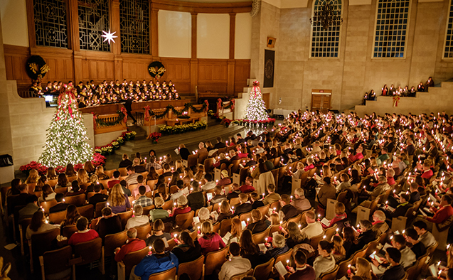 Lovefeast at Wake Forest University