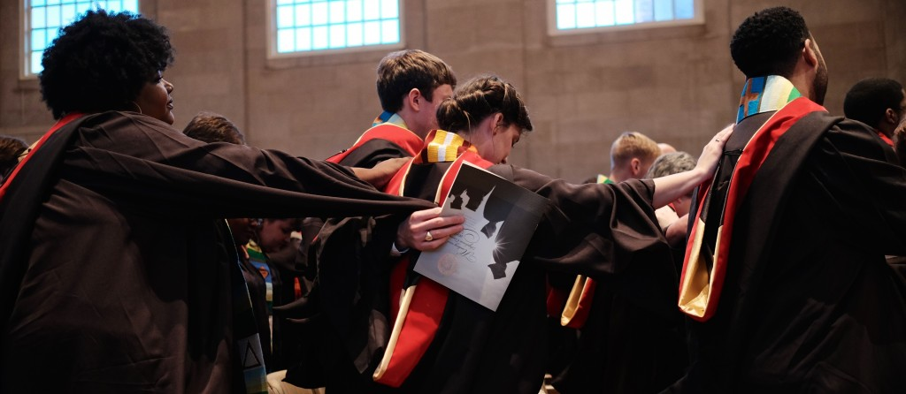 Wake Forest University held their School of Divinity Hooding Ceremony in Wait Chapel on 5/16/15.