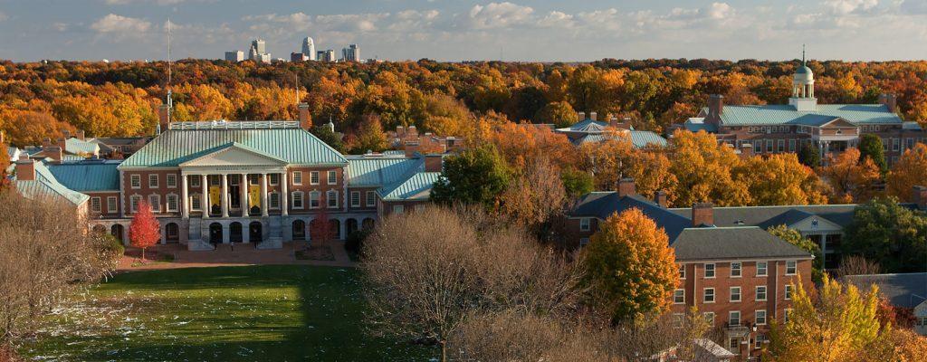 WFU Campus Aerial
