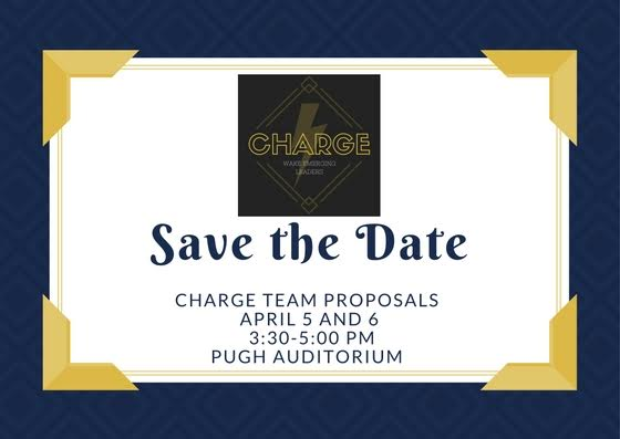 Charge Team Proposals April 5 and 6, 2017