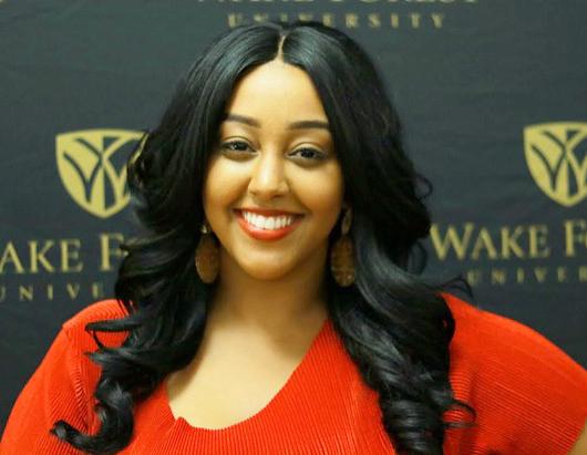 Milka Tewolde - 2017 CHARGE student leader