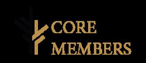 Core members logo.