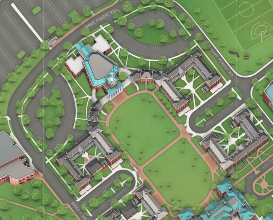 Huffman Residence Hall on map