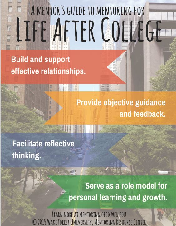 Guide to Mentoring for Life After College