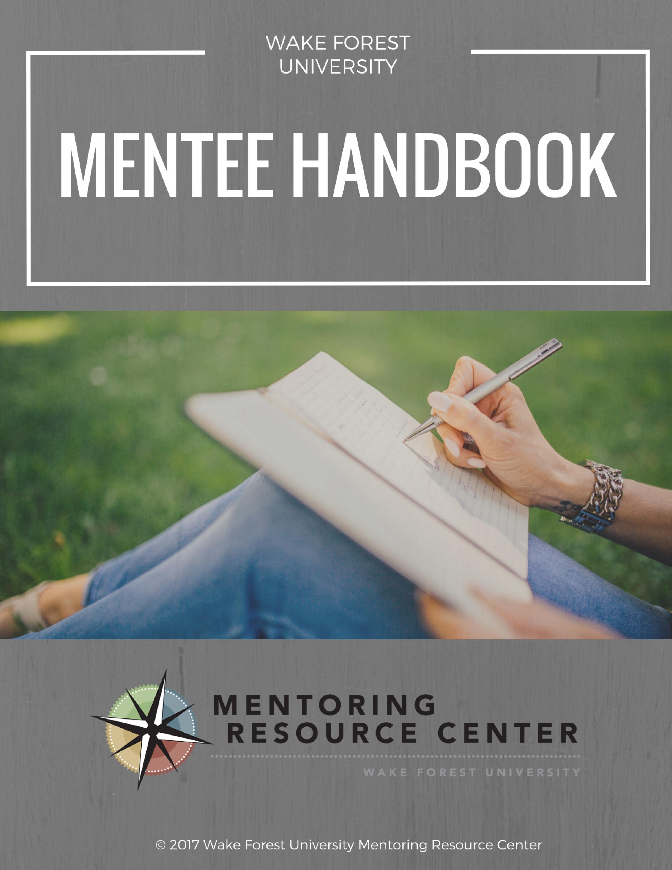 Mentee Handbook