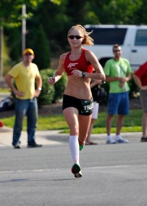 Molly Nunn is running for a shot at the Olympics.