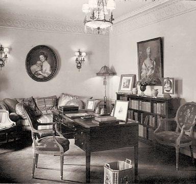 Katharine Reynolds study in Reynolda House