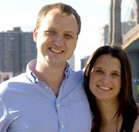 Bill McGibony ('06) and Jane Bianchi ('05)