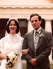 Kathie Arnato ('77) and Al Rives ('76)