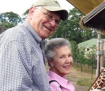 Major Harding ('57, JD '59) and Jane Lewis Harding ('58)