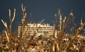 Damage to Joplin, Mo. in 2011.