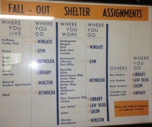 Fall-Out Shelter Sign