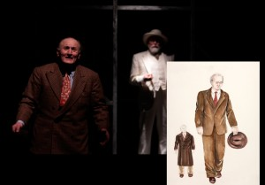 Willy Loman in 'Death of a Salesman,' conceptual design