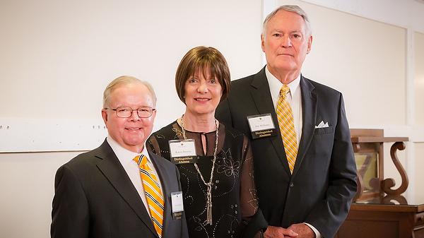2014 Distinguished Alumni Award winners - Norm Kellum, Karen Bruton and Jim Williams