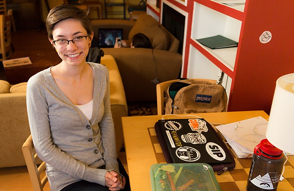 Brittany Forniotis is a double major in history and art history.