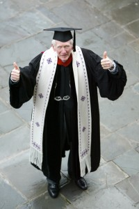 Ed Christman retired in 2003 after 30 years as chaplain and a career at Wake Forest that spans back to the 1950s.