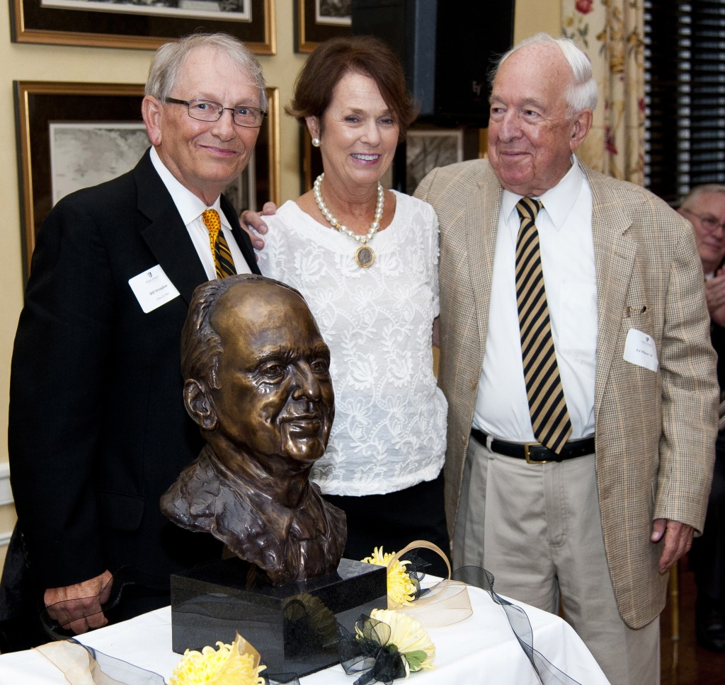 Reunion chair, Prissy Armfield and Ed Wilson. Photo by David Rosen.