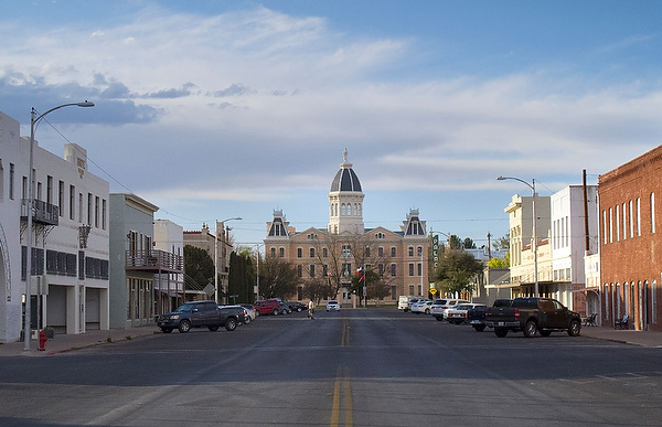 """Marfa, described as """"Tough to get to. Tougher to explain. But once you get here, you get it."""""""