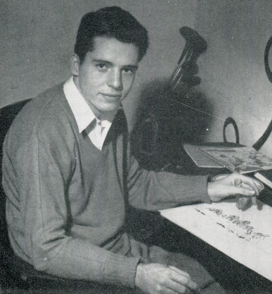A sign of things to come: Harold Hayes as editor of The Student revamped the magazine, combining serious columns, satire and humor, creative photography and original artwork to create what the North Carolina Collegiate Press Association called the best all-around magazine in the state in 1949.