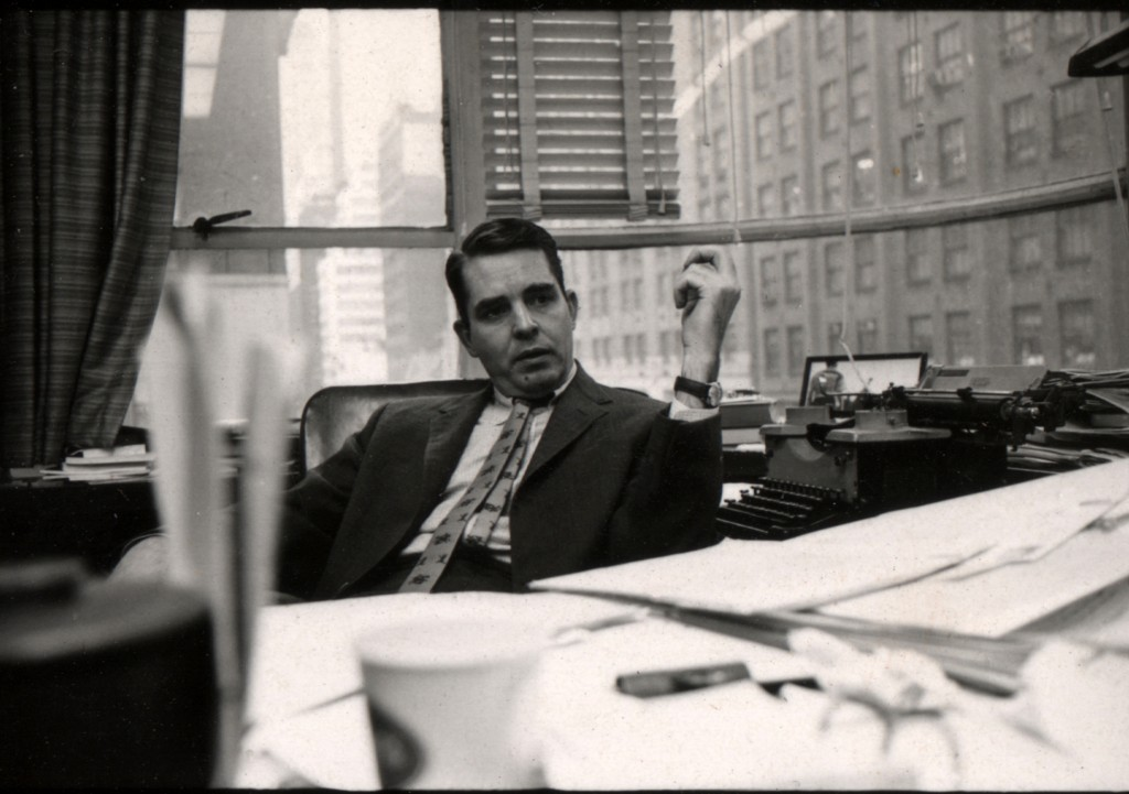 Harold Hayes in office